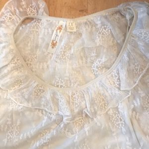 1X ADIVA Lacey lined top